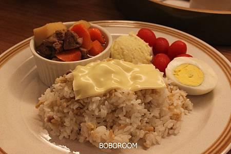 馬鈴薯燉肉飯