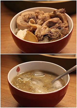 麻油雞&綠豆湯