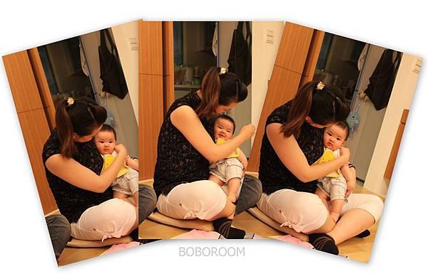 5享受親子互動的母子