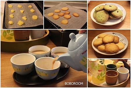 小餅乾+金桔檸檬汁+英式鮮奶茶