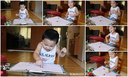 Alvin玩剪貼