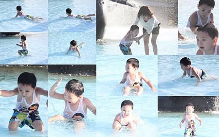不怕水的小孩