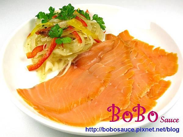 燻鮭魚洋?醬菜加字檔