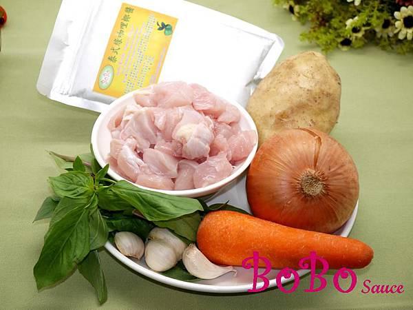 泰式綠咖哩椰雞加字檔