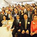 樹林教會婚禮結束與教會長執合照
