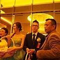 喜宴會場--新郎新娘送客