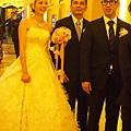喜宴會場--新郎新娘進場