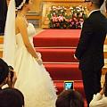 樹林教會婚禮--掀頭紗