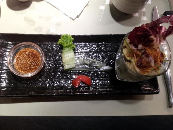 陶板屋和風創作料理(南京店):【台北中山】陶板屋和風創作料理-私認為比以前優上許多,香蒜瓦片好好吃!