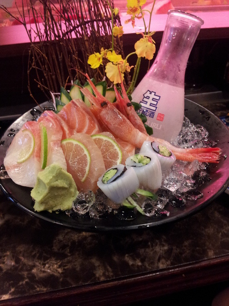 佐竹日本料理:<口碑券> 【台中東海】佐竹日本料理-平價優質的日本料理