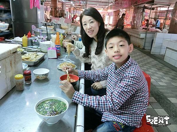 食記大內豆菜麵2