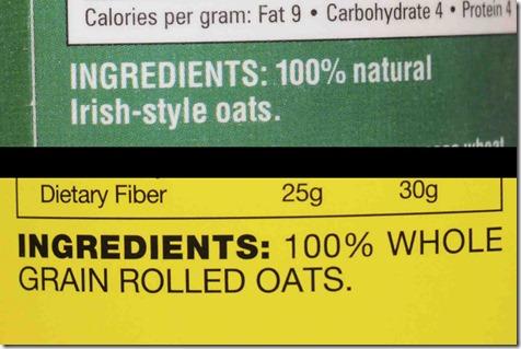 oats info
