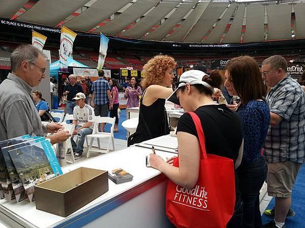 加拿大藍海-2014溫哥華國際美食節
