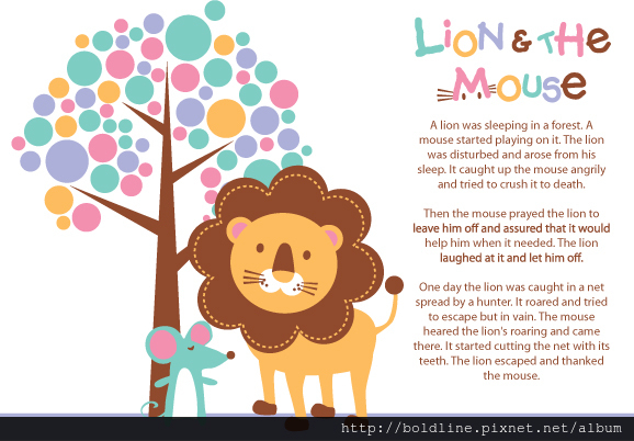 lion & the mouse