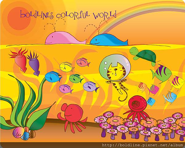 Boldline Colorful world 2