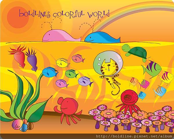 Boldline Colorful world 2
