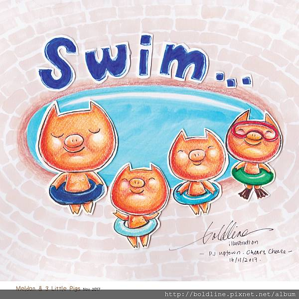 3 Little Pig-swim-01