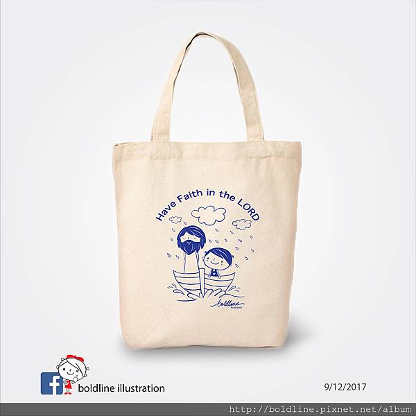 Boldline Product-Have Faith in the Lord(s)_Canvas Bag