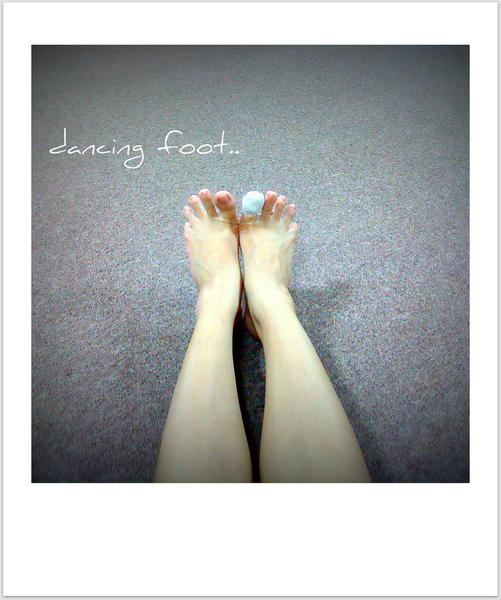 Dancing foot