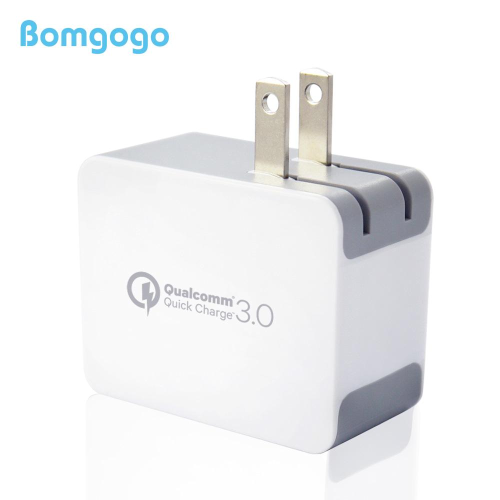 Bomgogo 美國高通Qualcomm原廠正式授權QC3.0認證 USB智能快速電源供應器(18W供應器)
