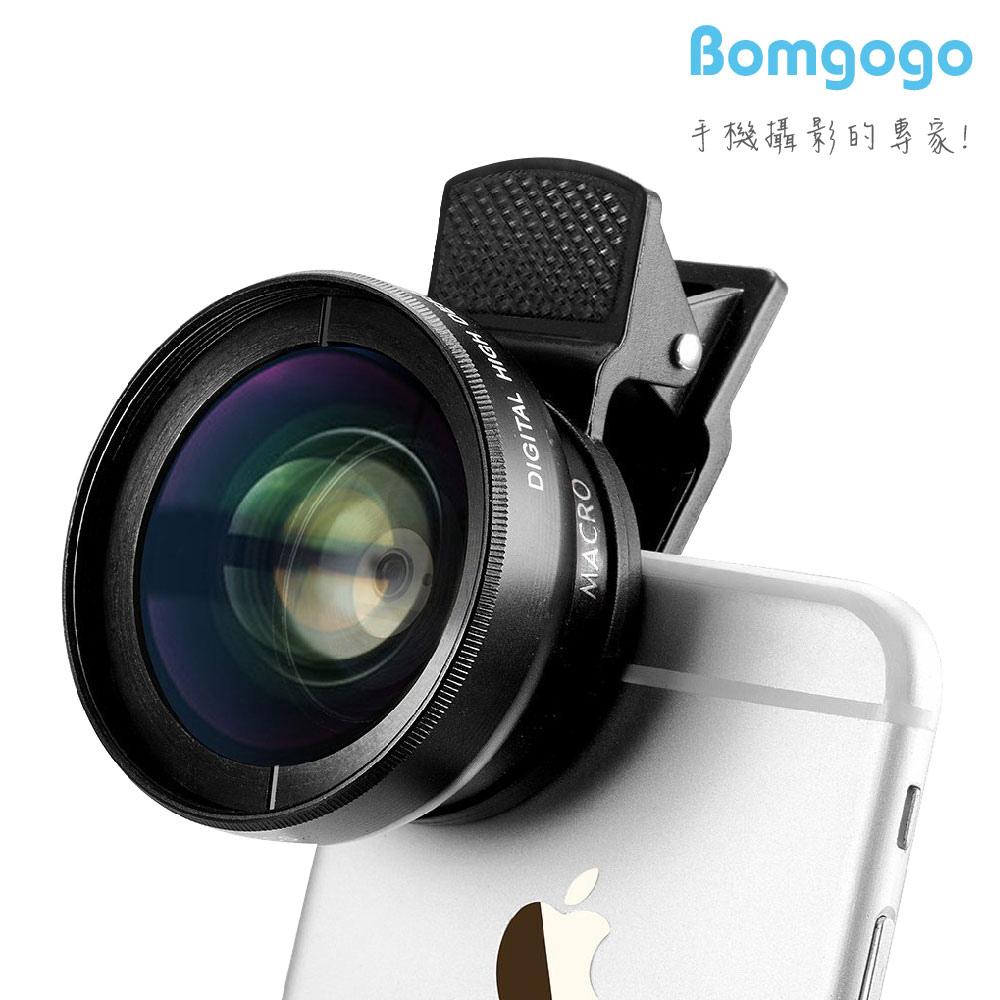 【AV001】Bomgogo Govision L1 霸氣超廣角 微距手機萬用大鏡頭