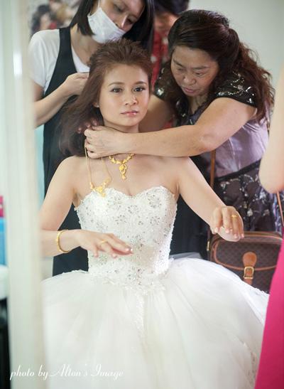 Lino-bridal stylist.蔡牧修