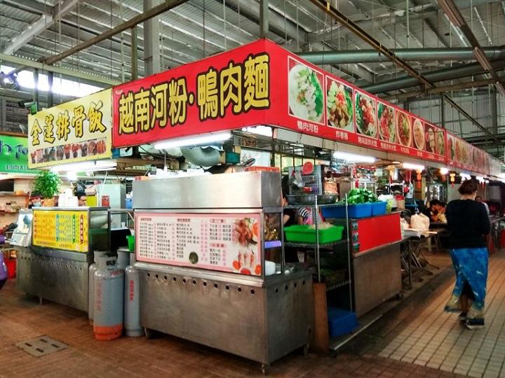 龍華市場越南河粉.鴨肉麵