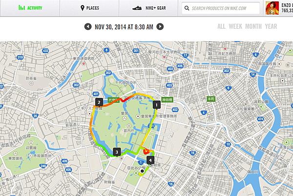 we run tokyo - 皇居