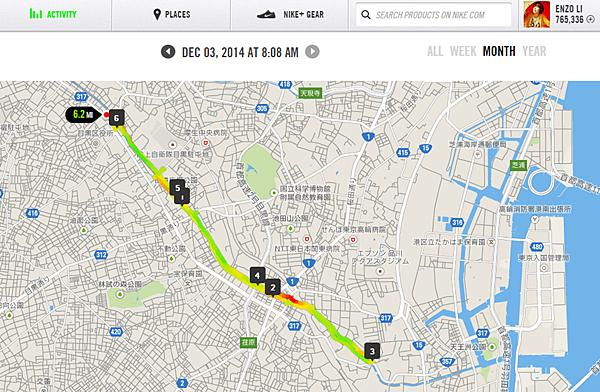 we run tokyo 目黑川