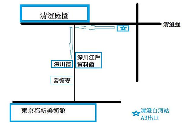 深川宿交通圖