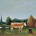 牛のいる風景-パリ近郊の眺め,バニュー村.jpg