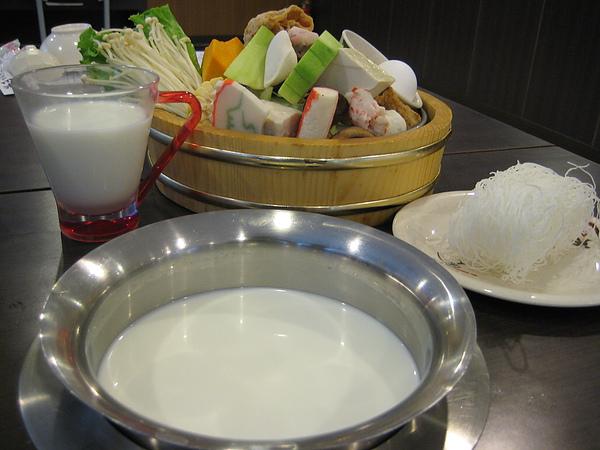 米山牛奶鍋