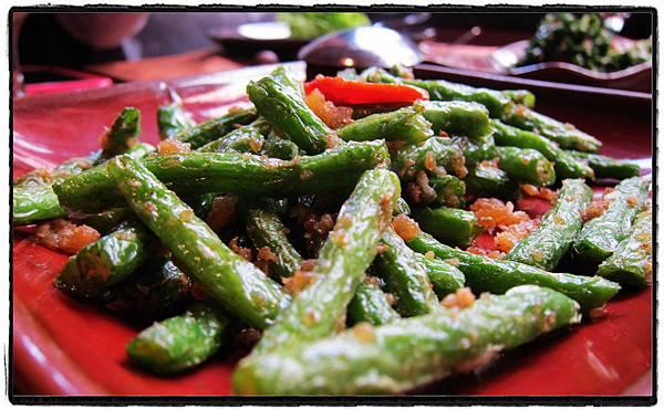 25緬式蝦醬炒四季豆