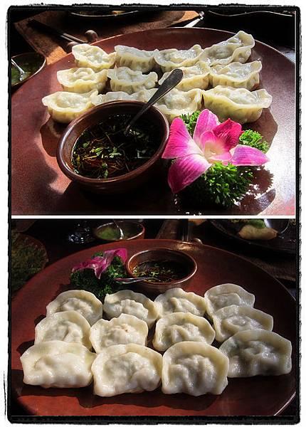 19古道銅盤鍋貼