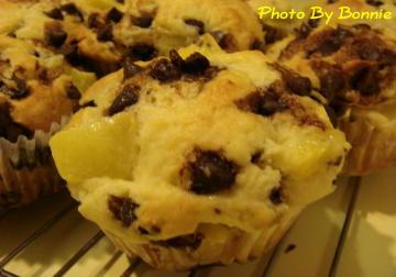 黃金奇異果巧克力鬆餅   muffins-2