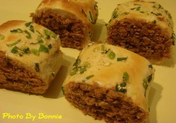肉鬆捲麵包-1