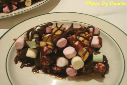 巧克力棉花糖塔-1