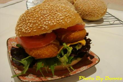雞肉漢堡-1