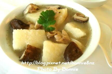 山藥香菇雞湯-1