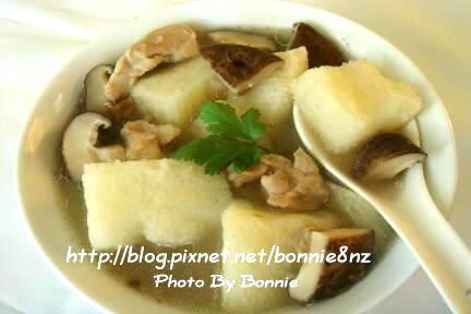 山藥香菇雞湯-3