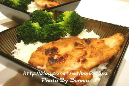 味噌烤雞排飯-1