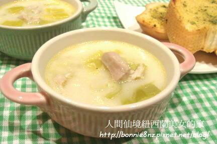 大蒜雞肉湯-1