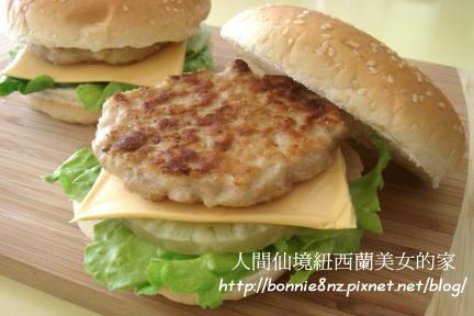 夏威夷雞肉漢堡-1
