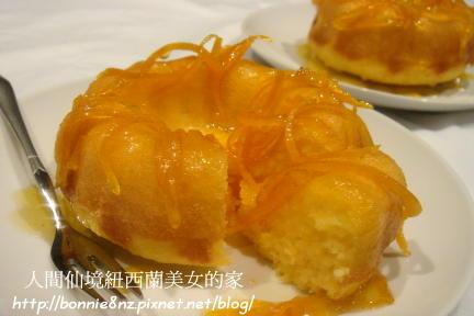 香橙蛋糕 orange bundt cake-1
