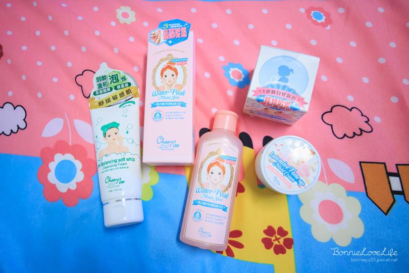 保養 / 韓國原裝進口玻尿酸保養品「Choonee啾妮」茶樹洗面乳、化妝水、素顏霜。不用妝!保養時肌膚就變漂亮!