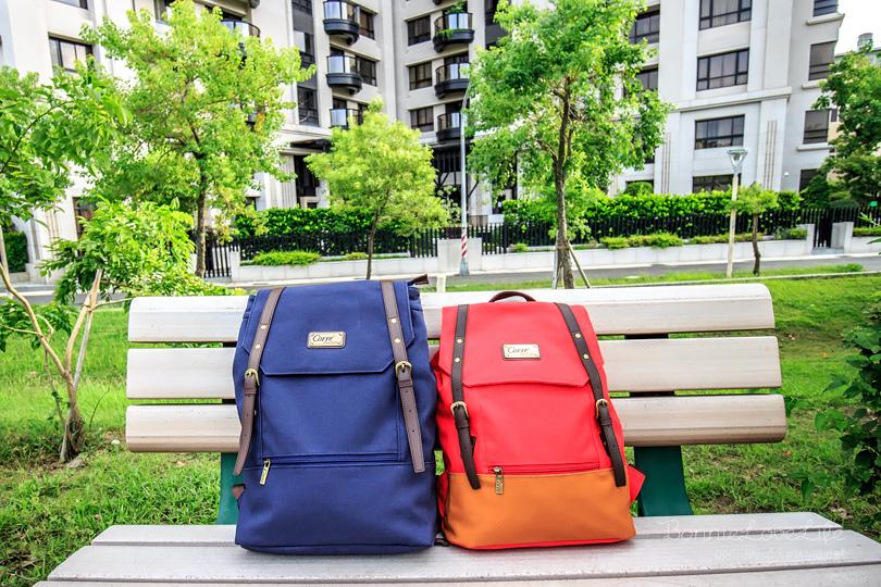 配件 / CORRE手工帆布包,採用16盎司帆布製成,容量大又有型,雙皮扣後背包、情侶包