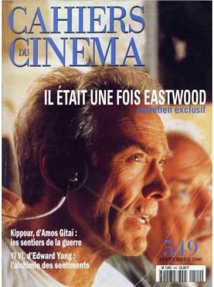 Cahiers-du-cinema-de-septembre-2000---Clint-Eastwood