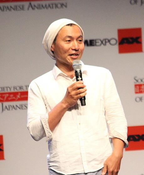 Masaaki_Yuasa_at_Anime_Expo_2013