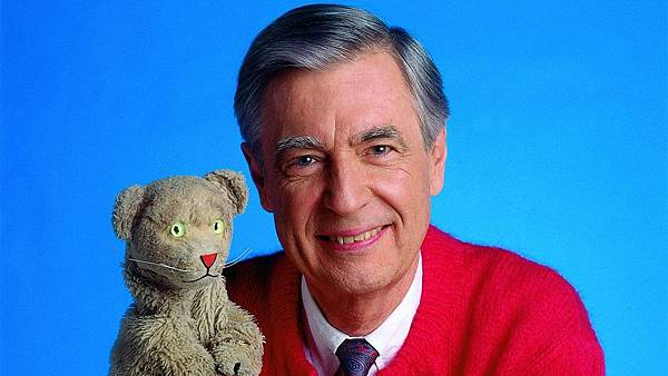 Mister Rogers with Dan
