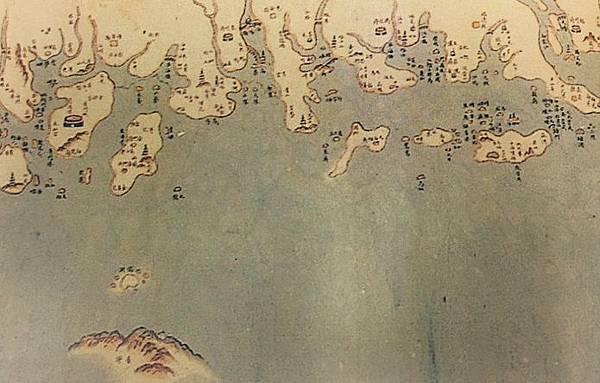 沿海全圖雍正八年